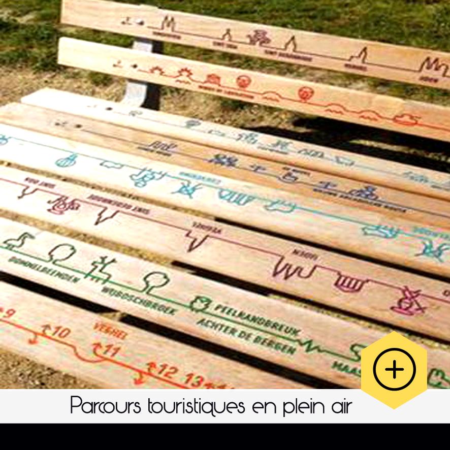 """#Talent """"Parcours touristiques en plein air"""""""