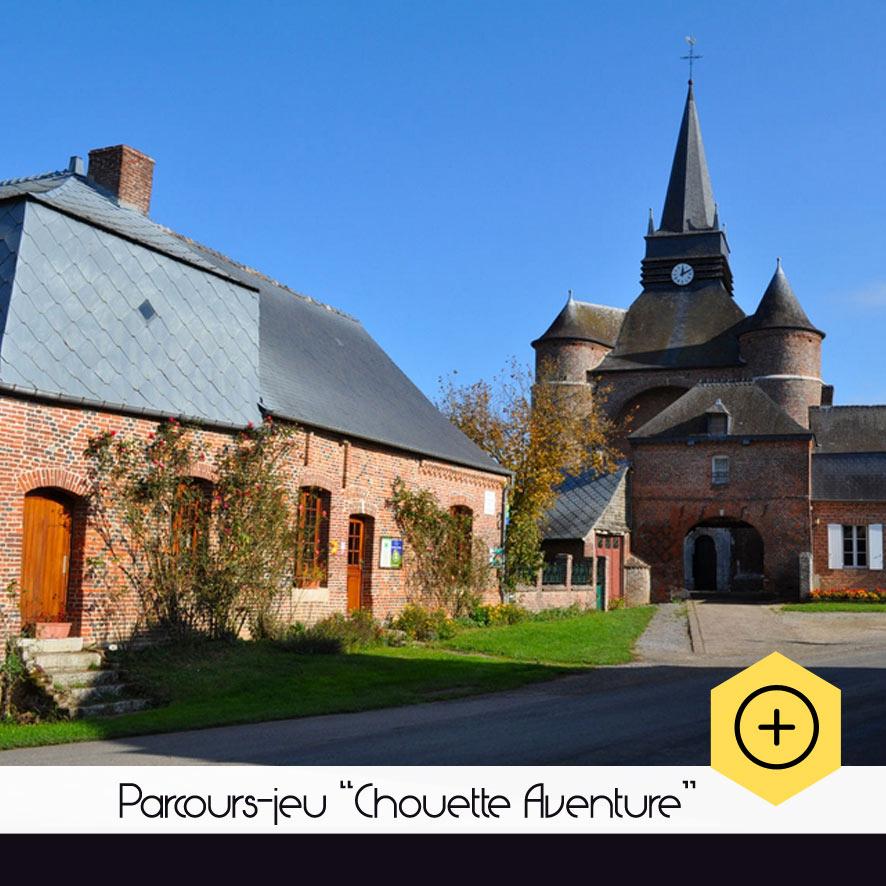 """Parcours-jeu """"Chouette aventure"""""""
