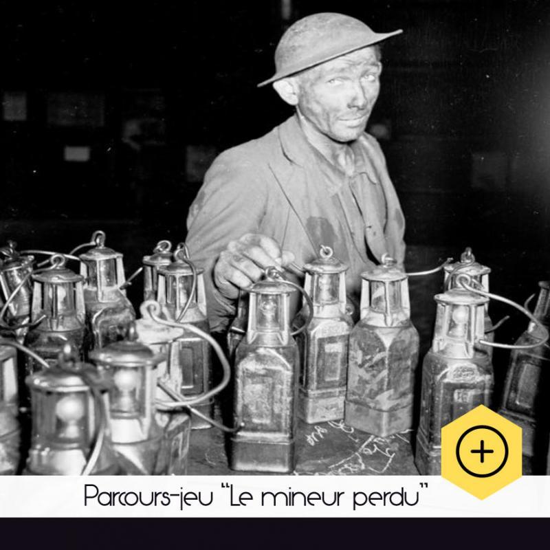 """Parcours-jeu """"Le Mineur perdu"""""""