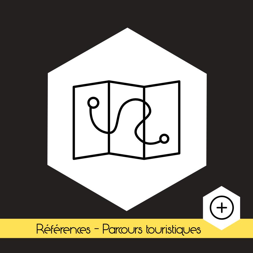"""#Références """"Nos Parcours touristiques"""""""
